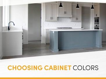 BLOG Choosing Cabinet Colors