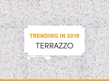Blog 2019 Trending Terrazzo