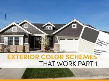 Blog Exterior Color Schemes That Work Part 1-1