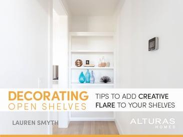 Decorating Open ShelvesBlog